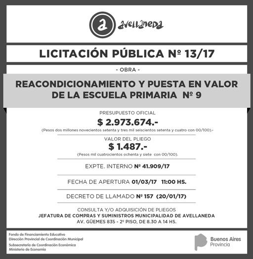 LICITACION PUBLICA Nº 36-15 def