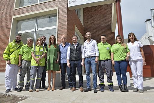 Vidal se reunió con operarios de SAME Lanús - Diario La Ciudad de Avellaneda