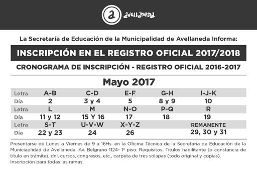 Ingreso a la Docencia 2017