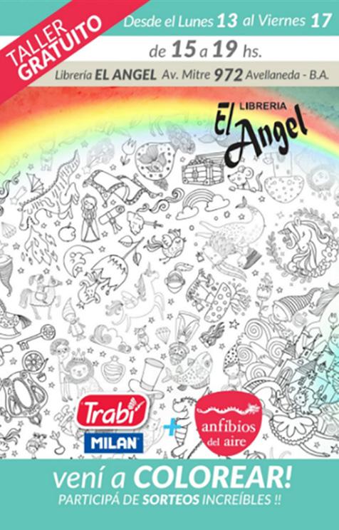 Librería El Angel invita a los chicos a colorear y participar de ...
