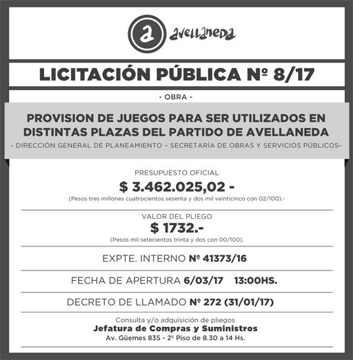 LICITACION PUBLICA Nº8-17 9,8x10cm